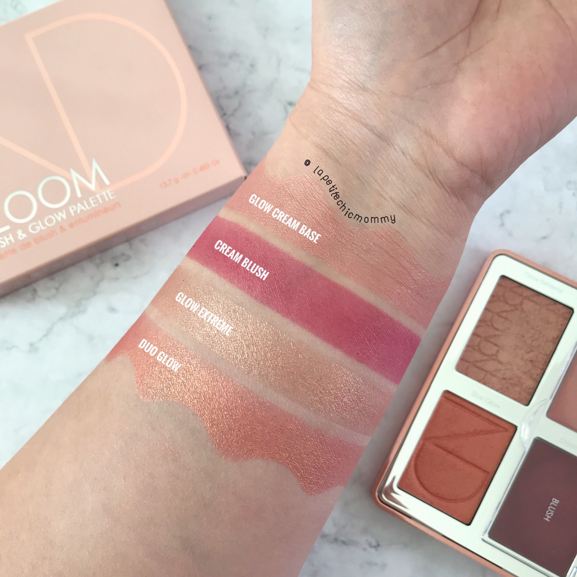 Bloom Blush & Glow Palette by Natasha Denona #12